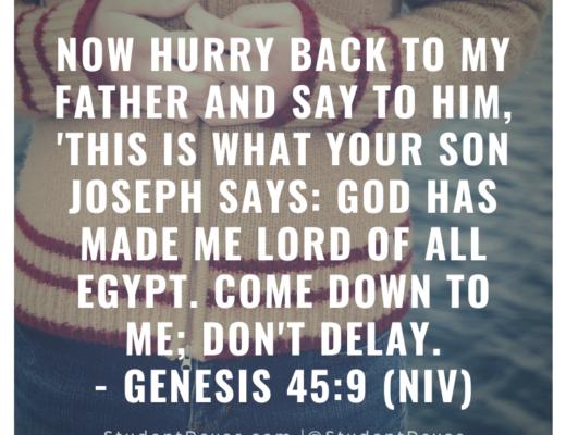 Genesis 45:9