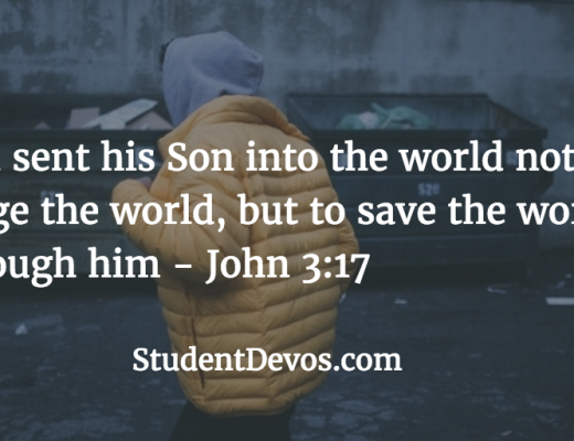 Bible Verse for Teenagers Daily Bible Verse and Devotion