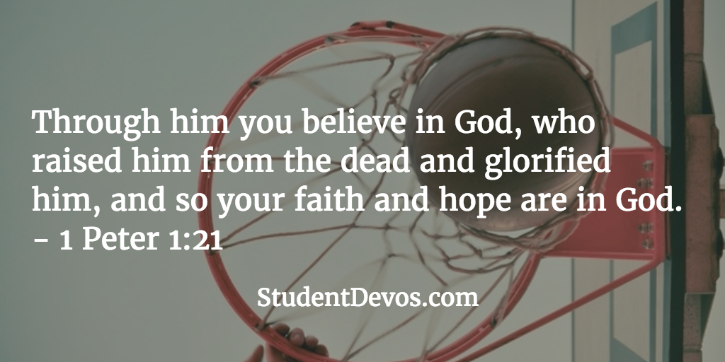 Daily Bible Verse and Devotion on Faith in God for Teens