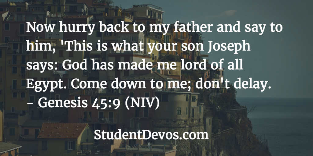 Daily devotion and Bible verse on being faithful
