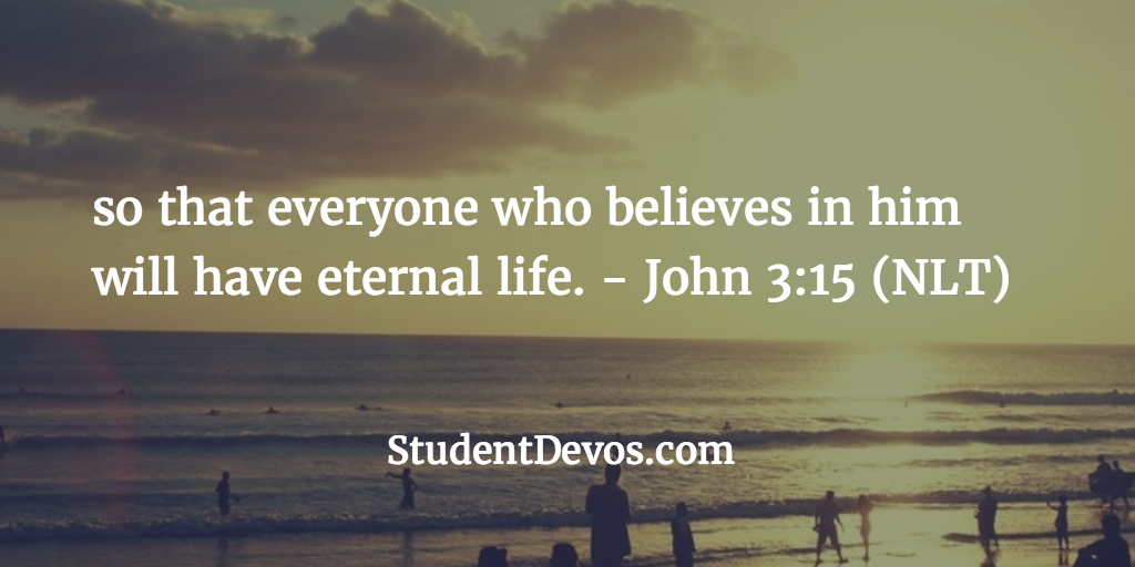 Daily Devotion and Bible Verse on Easter and Eternal Life