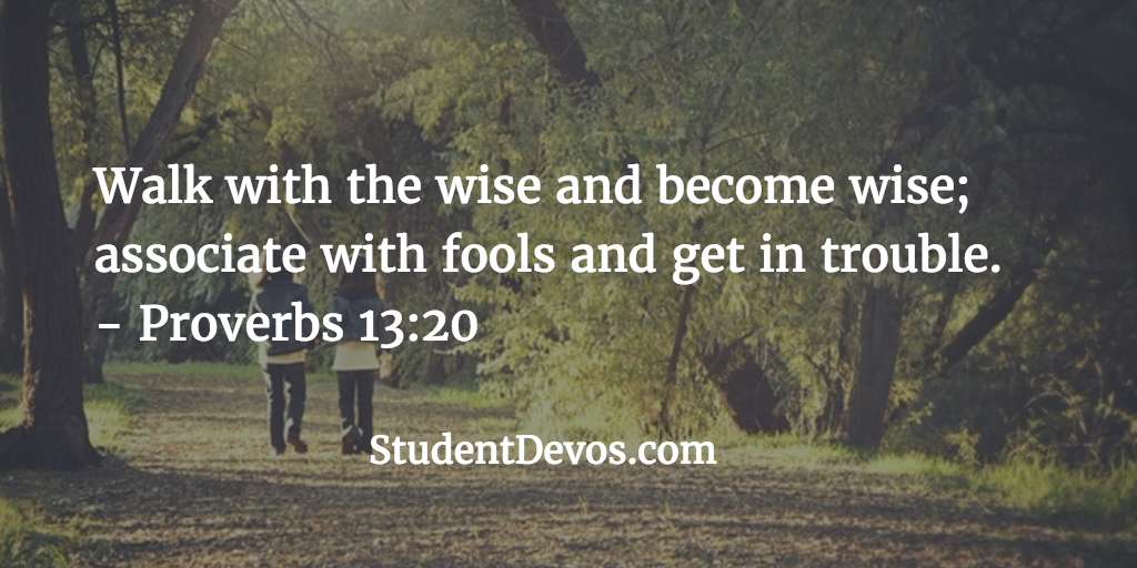 Daily Bible Verse and Devotion for Teens on Friendship