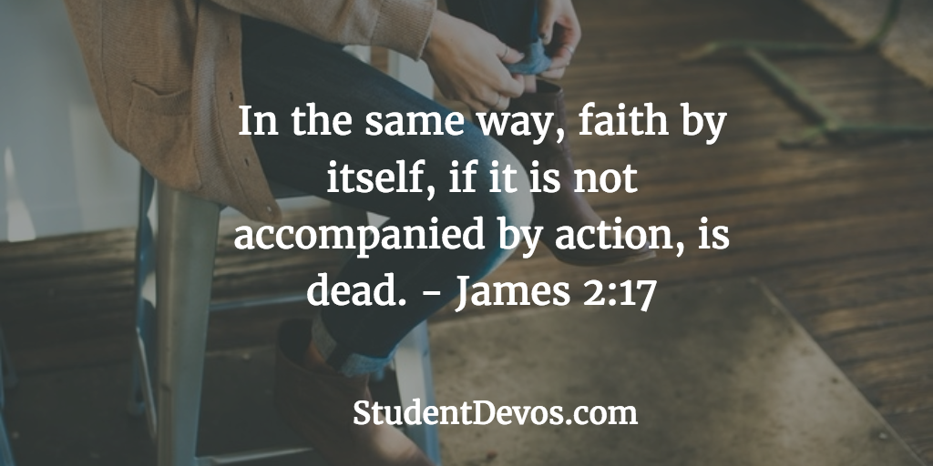 Daily BIble Verse and Devotion on Faith