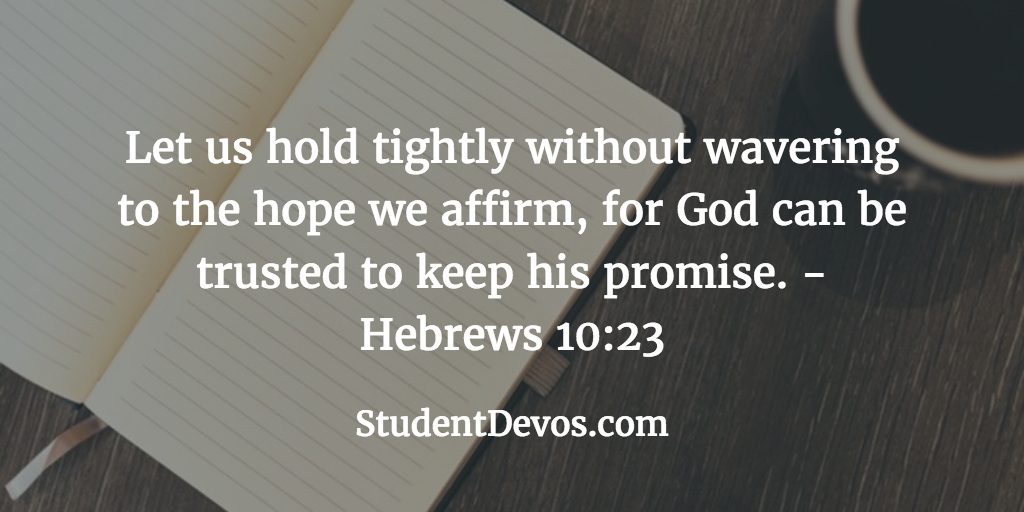 Daily Bible Verse for Teens and Devotion