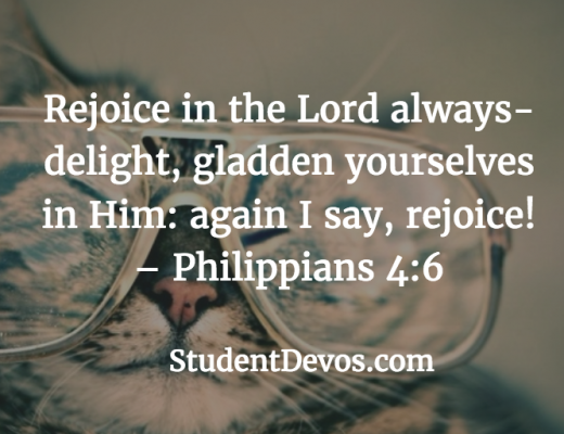 Daily Bible Verse and Devotion - Rejoicing Always