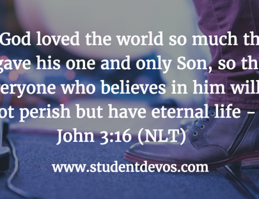 Youth Devotion - God's Love John 3:16