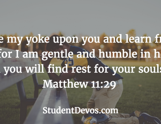 Youth Devotion - Teen Devotion Daily Bible Verse
