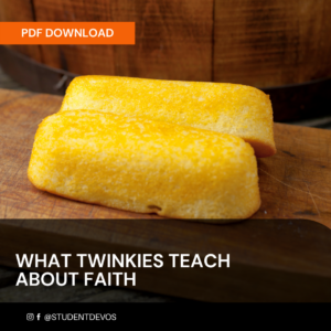 Icon for WHAT TWINKIES TEACH ABOUT FAITH