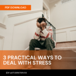 3 PRACTICAL WAY Icon S TO DEAL WITH STRESS