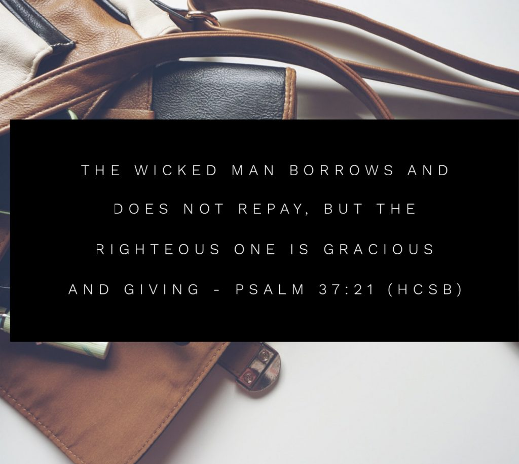 Daily Bible Verse and Devotion on Giving