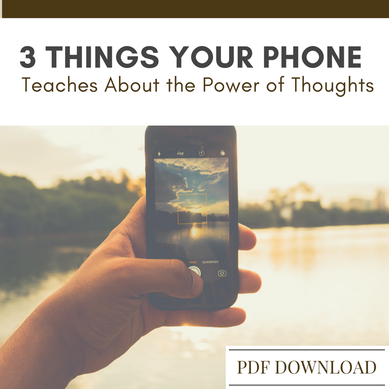 Teen Discusssion QUestions for youth group on power of thoughts