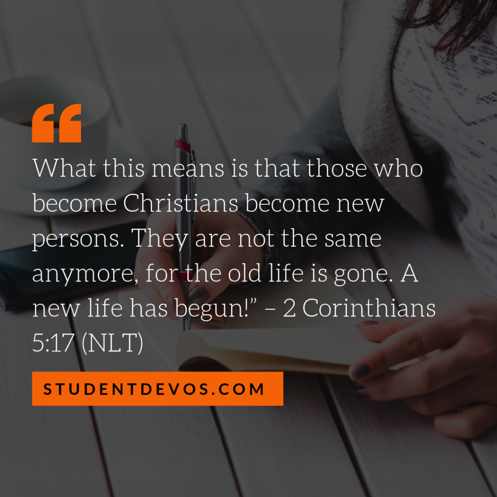 Teen Devotion and Bible Verse on Who You Are In Christ