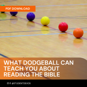 Icon for WHAT DODGEBALL CAN TEACH YOU ABOUT READING THE BIBLE