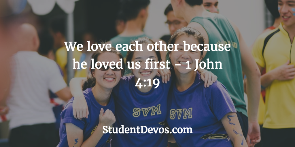 Daily Devotion and Bible Verse for Teens on Loving Others