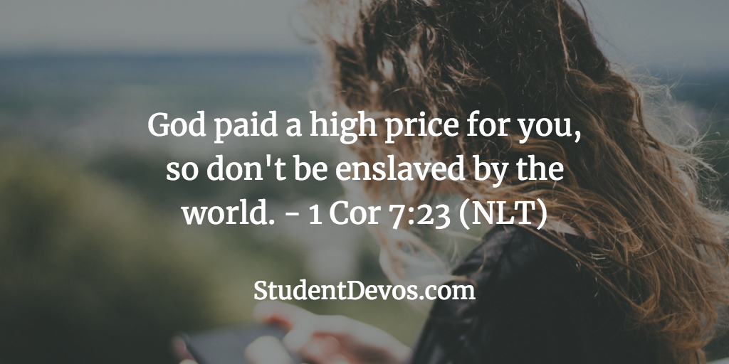 Your Value to God - Teen Devotion and Bible Verse