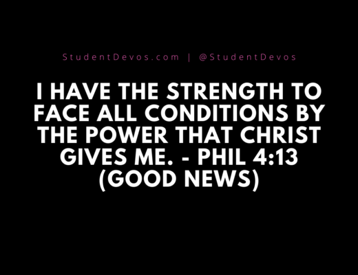 Phil 4:13 Bible verse