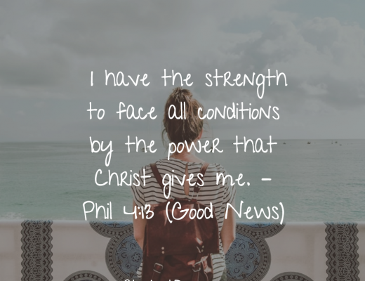 Phil4-13 daily bible verse for youth and teens