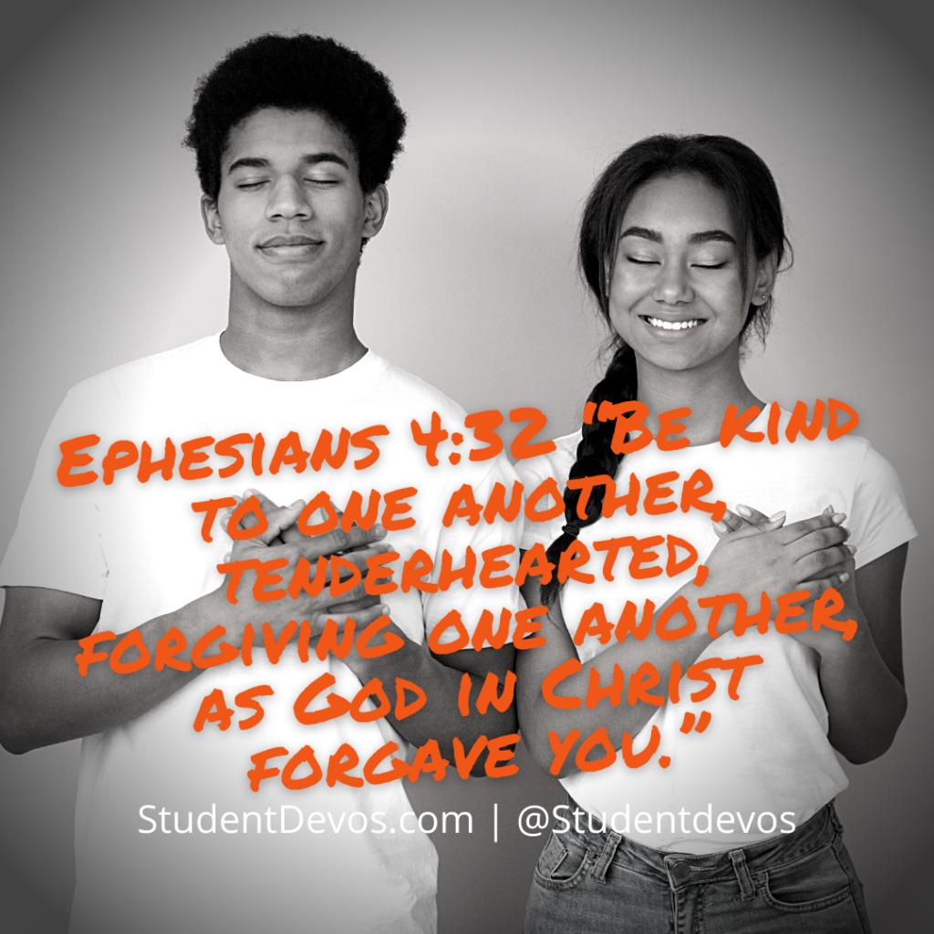 Teen Bible Verse Ephesians 4:32