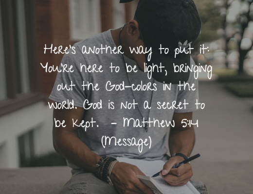 Daily Bible Verse Matthew 5;14