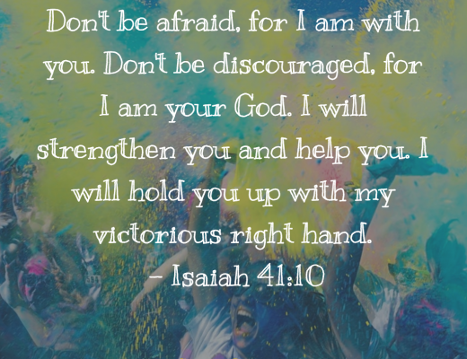 Daily Bible Verse and Devotion - Teens on Discouragement