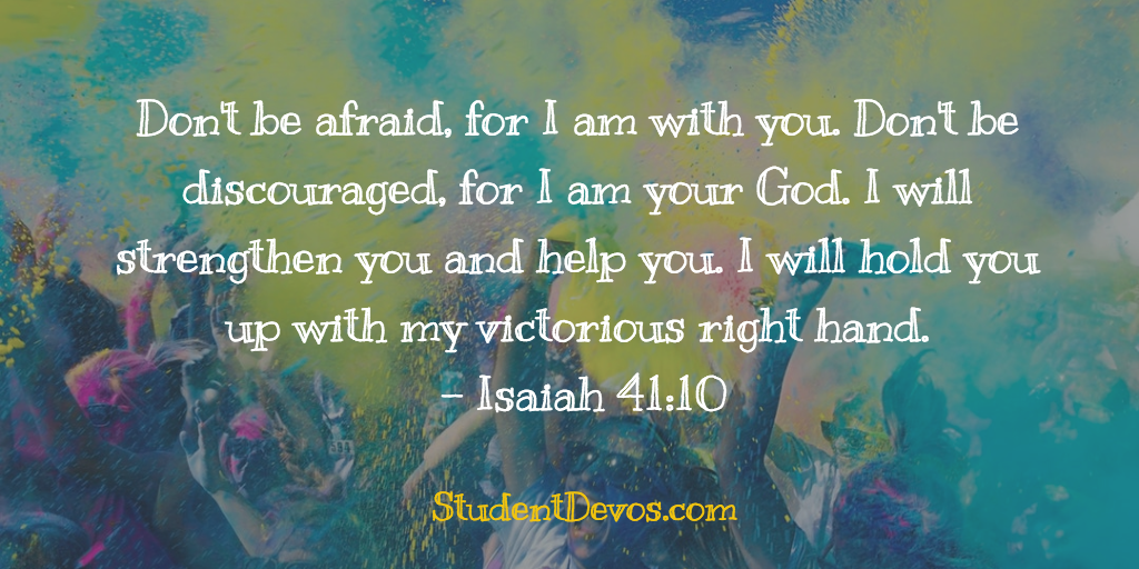 Teen Devotion - Daily Bible Verse on Discouragement