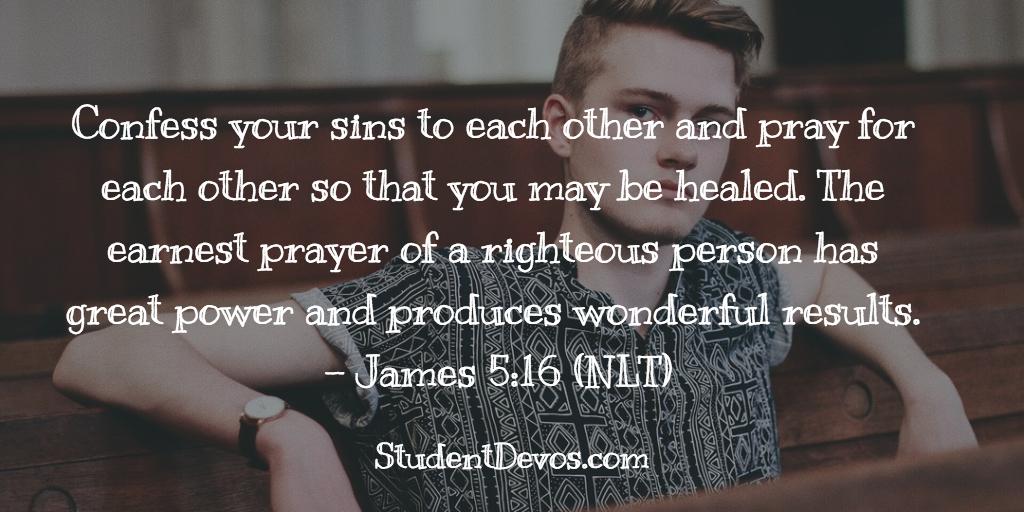 Teen Devotion on Prayer