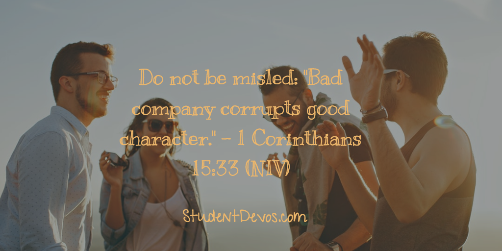 Teen Devotion and Bible Verse about friends