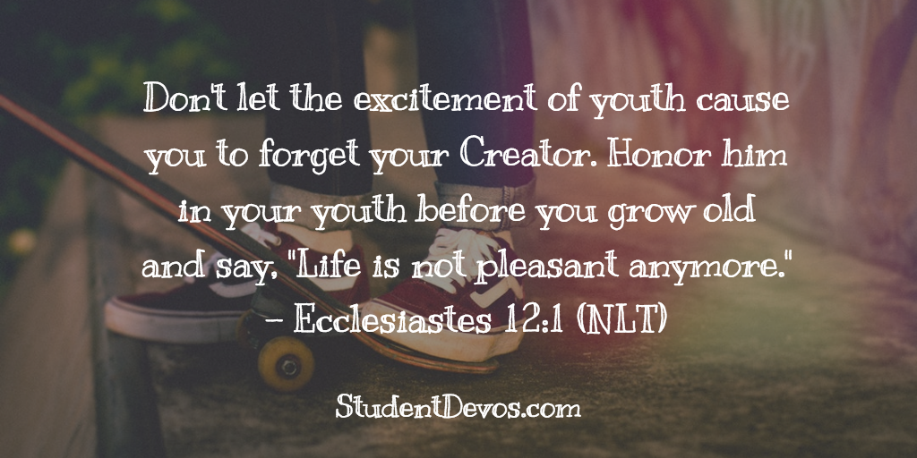 Devotion for Youth on Remembering God