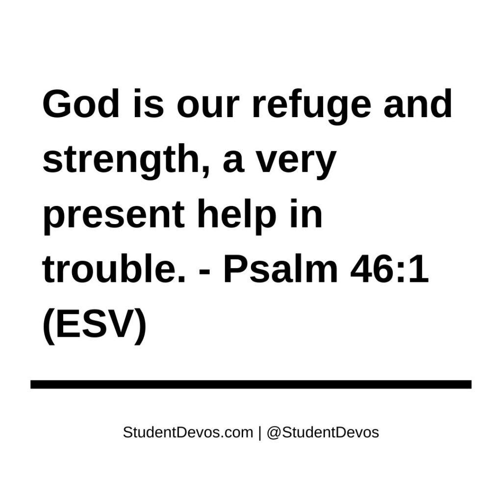 Teen Devotion Psalm 46