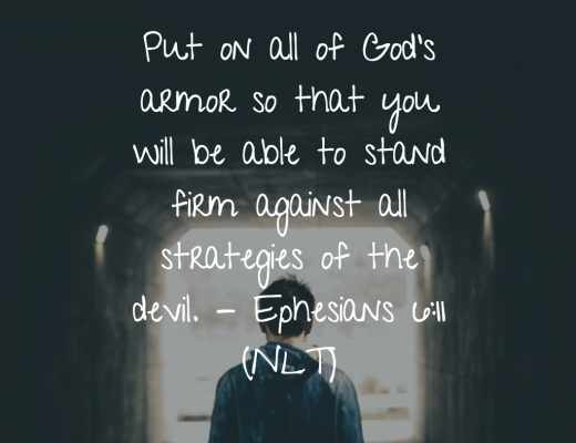 Daily Bible Verse for Teens - Battle Armor of God