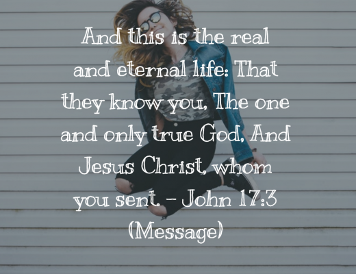 Daily Bible Verse and Devotion on Eternal Life for Teens