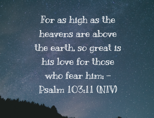 Daily Bible Verse For Teens on the Love of God