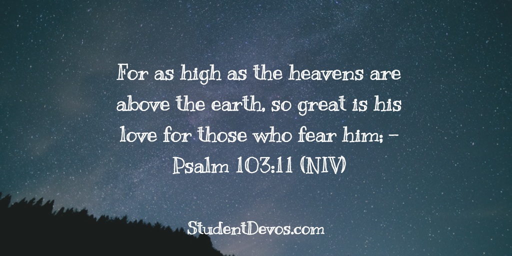 Daily Bible Verse on God's Love