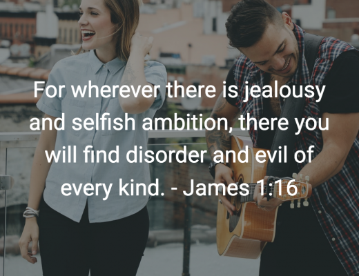 Daily Bible Verse and Devotion for Teens On Jealousy and Comparison