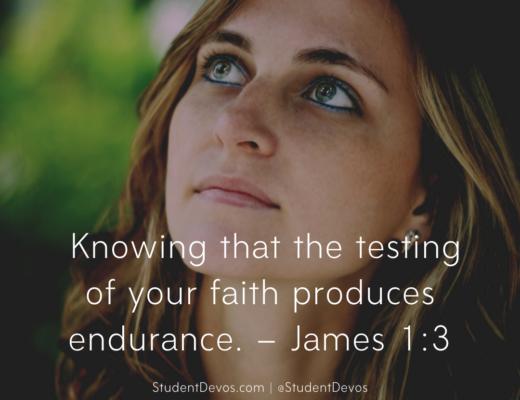 Daily Bible Verse James 1:3