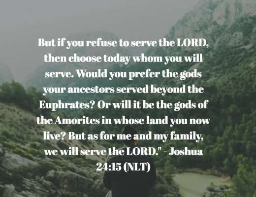 Daily Bible Verse and Devotion on Serving God