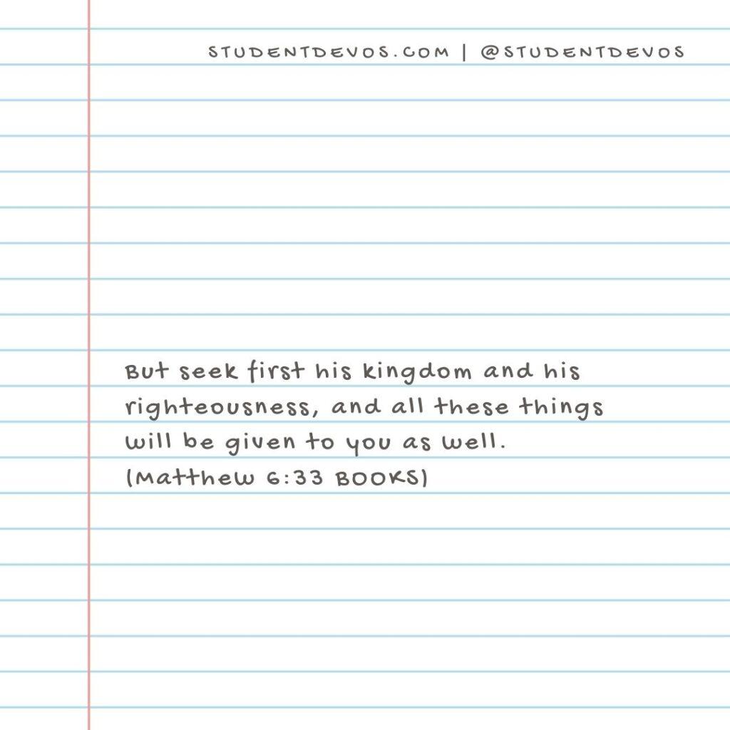 Bible Verse seeking God