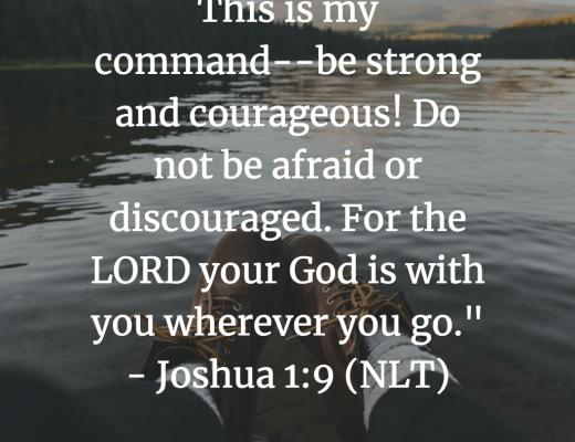 Teen Bible Verse and Devotion on Courage