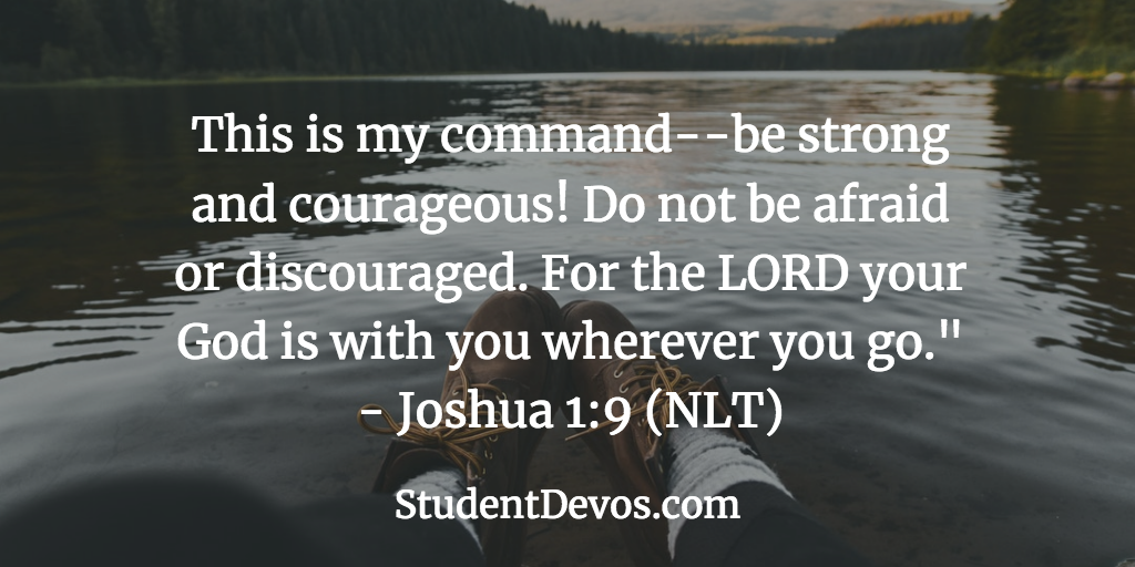 Daily Bible Verse on Courage