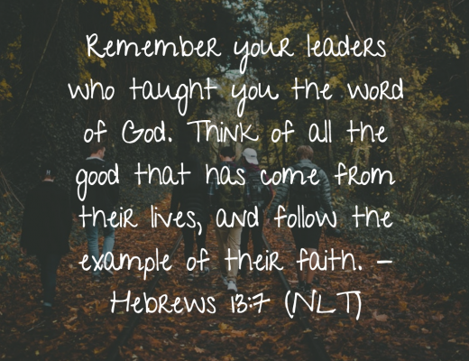 Daily Bible Verse and Devotion - Leaders