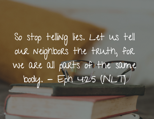 Daily Bible Verse for Teens - Telling the Truth
