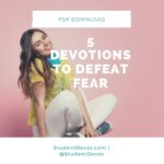 Teen Devotion on Fear