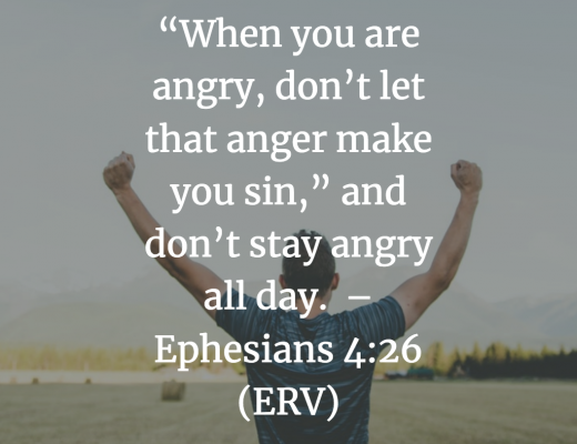 Devotion to Help Handle Anger for Teens