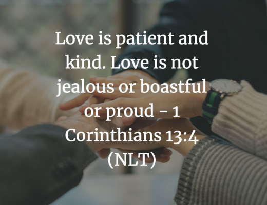 Daily Bible Verse and Devotion - Loving Others Teens