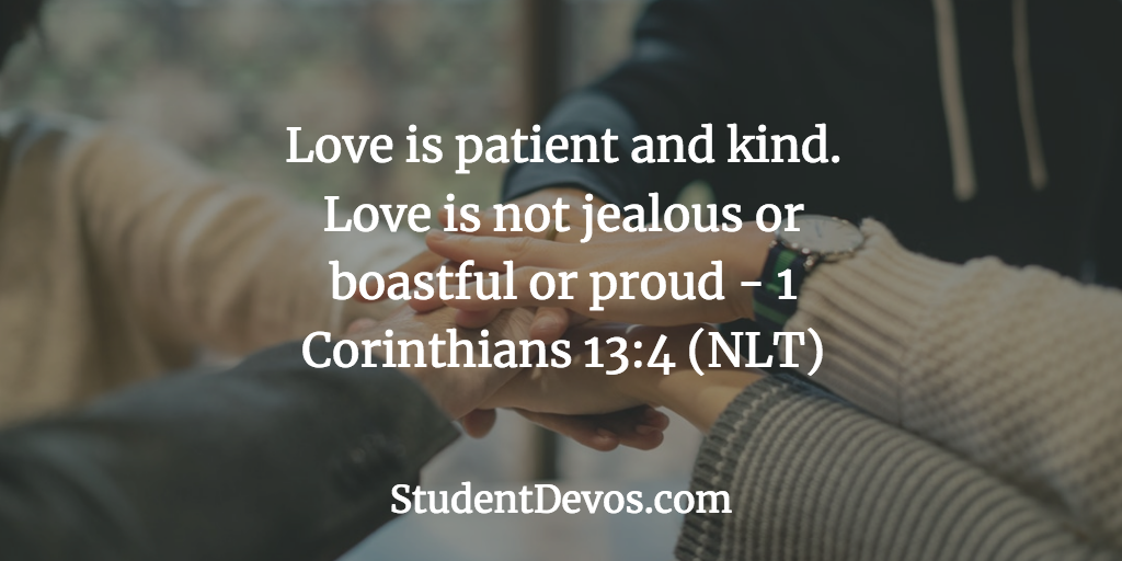 Teen Devotion and Bible Verse on Being Patient