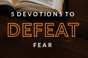 E-Book - 5 Devotions to Defeat Fear