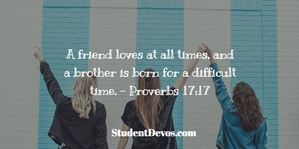 Teen and Youth Devotion on Friends