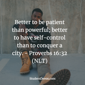 Daily Bible Verse on Patience