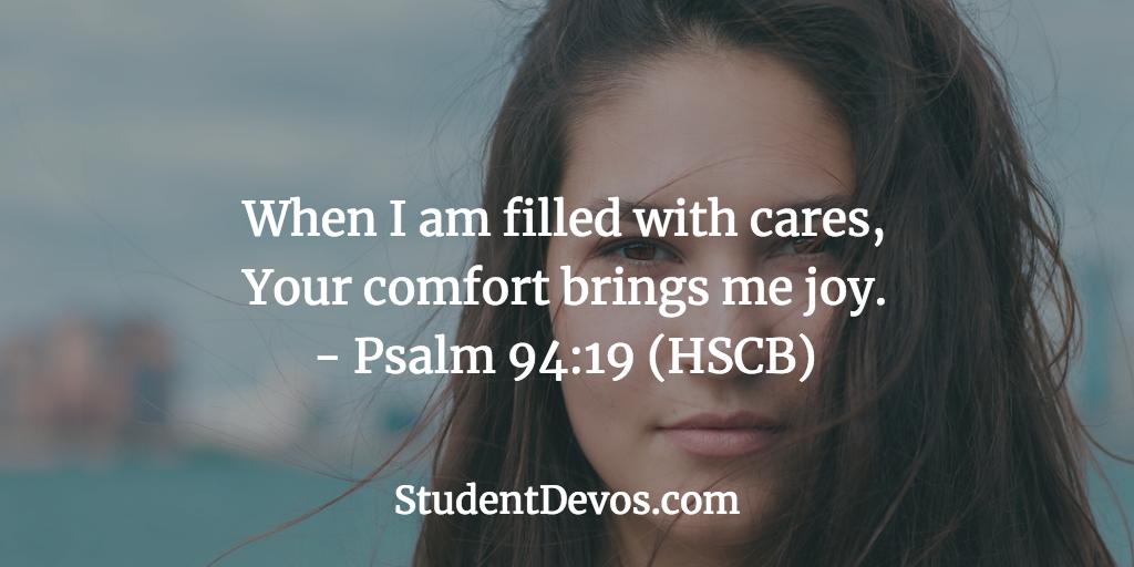 Teen Devotion and Bible Verse on Joy