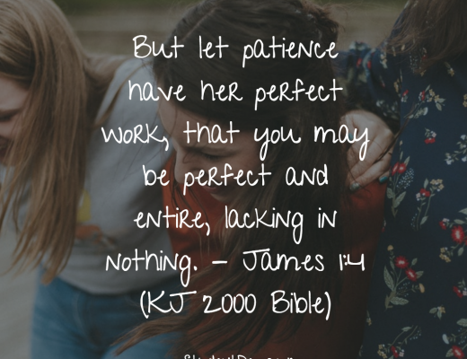 Daily Bible Verse and Devotion on Patience